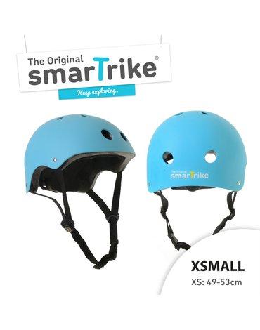 Kask rowerowy Smart Trike - rozmiar XS - niebieski
