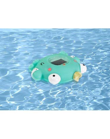 Miniland - Termometr do pomiaru temperatury wody w kąpieli i otoczenia - Żabka