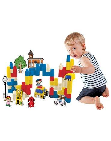 K's Kids - Klocki Popboblocs Zbuduj sam - Miasto