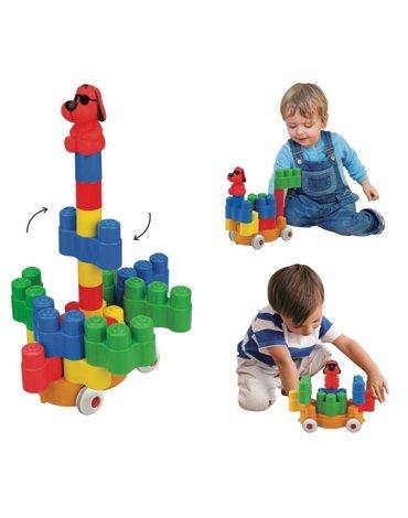 K's Kids - Klocki Popoboblocs - Turn Turn Loco 26 elementów