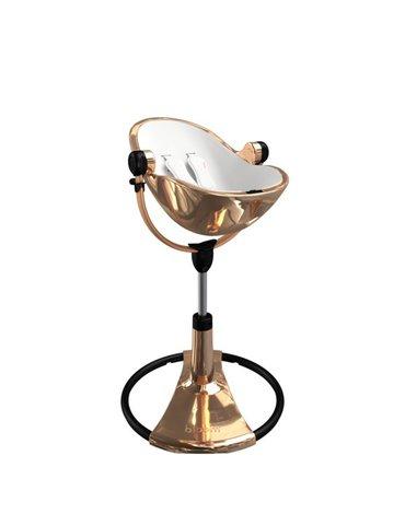 Stelaż krzesełka Bloom Fresco Chrome - złoty róż/czarny