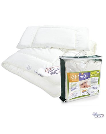 Babys Zone - OTONIO - BAMBOO kołderka z poduszką dla dziecka 135cm x 100cm