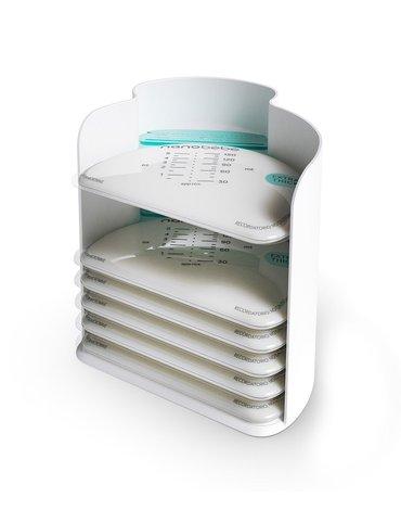 Nanobebe - Torebki do przechowywania mleka matki / pokarmu - 50 szt.