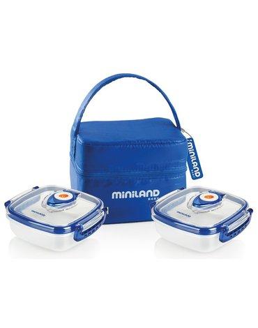 Miniland - Pojemniki hermetyczne z opakowaniem izotermicznym - 2 x 330ml