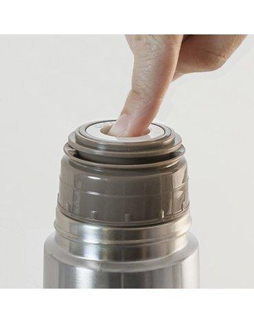 Miniland - Termos stalowy próżniowy 500ml - srebrny
