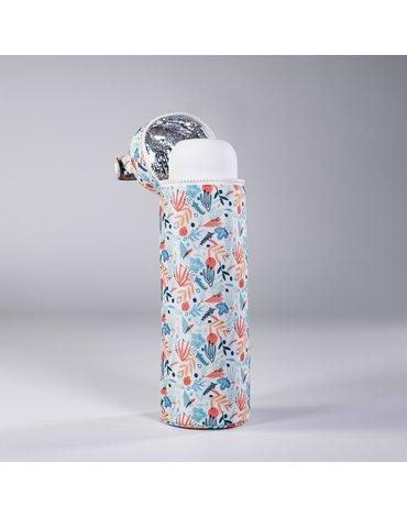 Miniland - Termoopakowanie na termos/butelkę 350ml - śródziemnomorskie