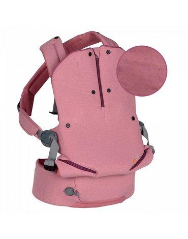 BeSafe tekstylia - Nosidełko dla dziecka BeSafe Haven - Premium - różowe