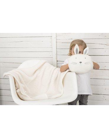 CuddleCo - Kocyk Comfi-Snuggle - Piesek Patch