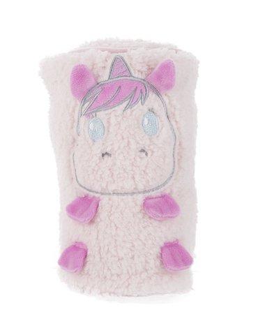 CuddleCo - Kocyk Comfi-Snuggle - Jednorożec Sparkles