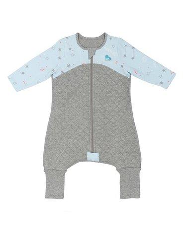 Piżama Love To Dream - 6-12 miesięcy-niebieska - ETAP 3 - 2.5 TOG Warm