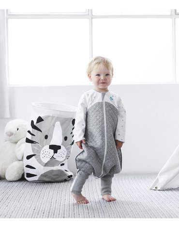 Piżama Love To Dream - 6-12 miesięcy - biała - ETAP 3 - 2.5 TOG Warm