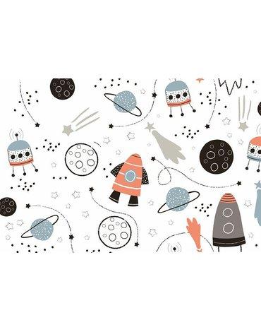 MARKO - Dywan dla dzieci ultra miękki 100x150 Kosmos