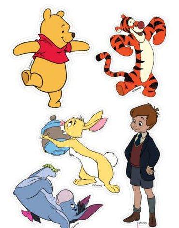 Disney - Dekoracje Ścienne - licencja Marko - Dekoracje ścienne - Kubuś i przyjaciele - zestaw