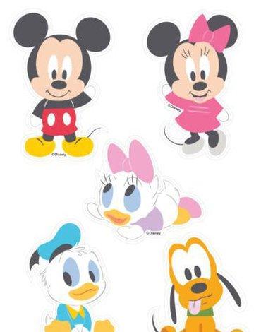Disney - Dekoracje Ścienne - licencja Marko - Dekoracje ścienne - Myszka Mickey Baby - zestaw