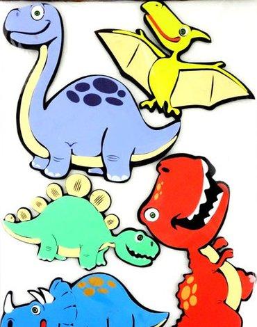 MARKO - Dekoracje Ścienne - Dekoracje ścienne - Dinozaury