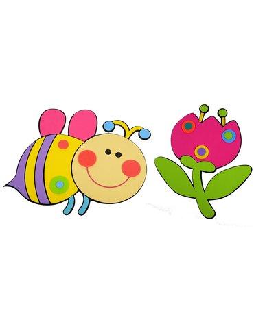 MARKO - Dekoracje Ścienne - Dekoracje ścienne - Pszczółka i Kwiatuszek