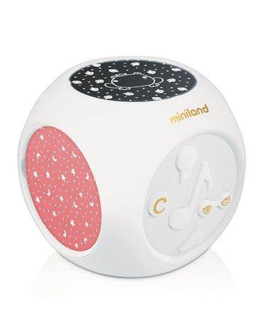 Miniland - Pozytywka/Projektor muzyczny z sensorem dźwięku Dreamcube Magical