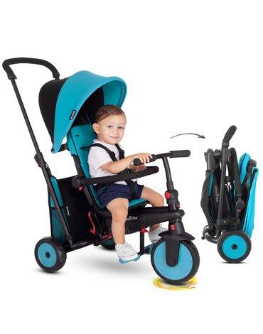 Smart Trike Składany rowerek Folding Trike STR 3 6w1 - niebieski