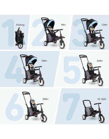 Smart Trike Składany rowerek Folding Trike STR 5 7w1 - Wiewiórka