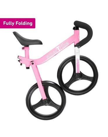 Smart Trike Składany rowerek biegowy dla dziecka - różowy