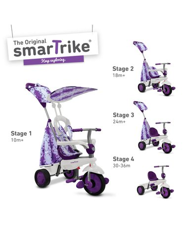 Pojazd/Rowerek Smart Trike Spirit - fioletowy