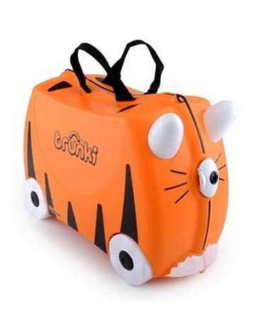 Trunki - Jeżdżąca walizeczka - Tygrysek Tipu