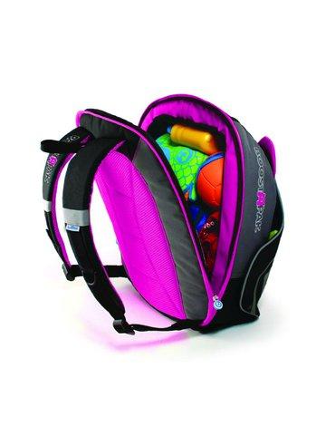 Trunki - Podstawka podwyższająca i plecak 2w1 - różowy