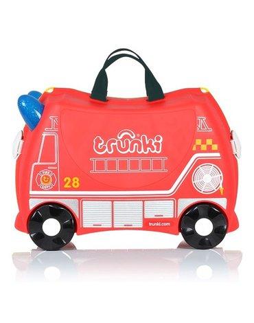 Trunki - Jeżdząca walizeczka - Wóz strażacki Frank