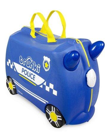 Trunki - Jeżdżąca walizeczka - Radiowóz Percy + naklejki