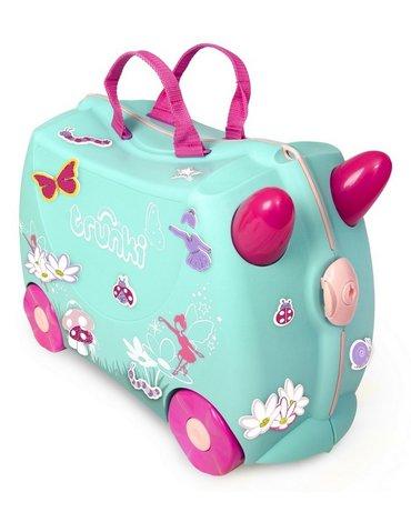 Trunki - Jeżdząca walizeczka - Wróżka Flora + naklejki