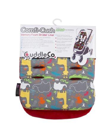 CuddleCo - Wkładka do wózka Comfi-Cush - Dżungla