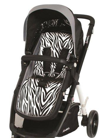 CuddleCo - Wkładka do wózka Comfi-Cush - Zebra