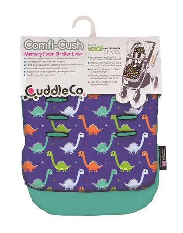 CuddleCo - Wkładka do wózka Comfi-Cush - Dinozaury