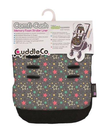 CuddleCo - Wkładka do wózka Comfi-Cush - Kolorowe Gwiazdki