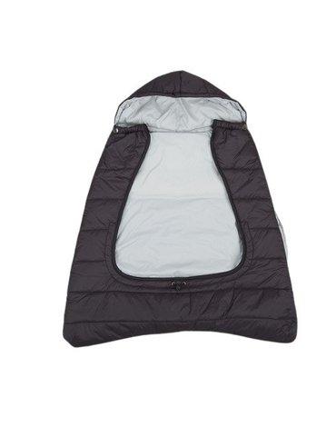 CuddleCo - Śpiworek do nosidełka/wózka/fotelika 3w1 Comfi-Cape - czarny/szary