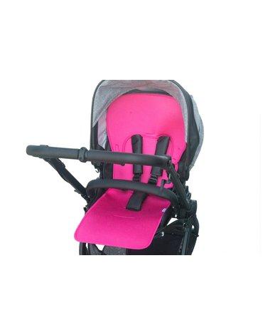 Kuli-Muli - Uniwersalna wkładka antypotowa do wózka spacerowego - Lyocell - różowa