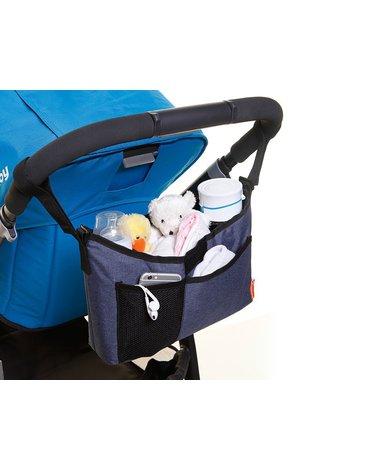 Dreambaby - Organizer na wózek - denim