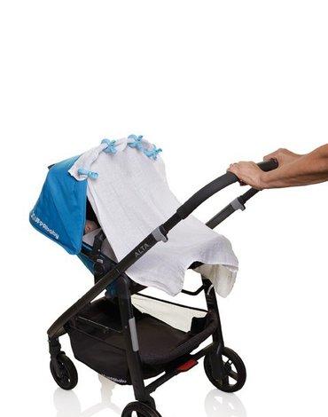 Dreambaby - Klipsy do wózka - 4 szt. - niebieskie
