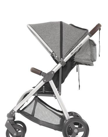 Wózek spacerowy Oyster Zero - szary - Mercury
