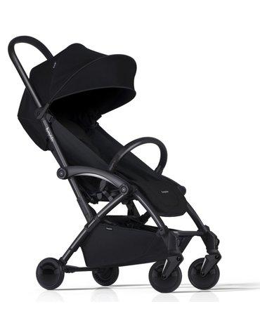 Wózek spacerowy Bumprider Connect 2 stelaż czarny/siedzisko czarne