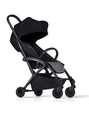 Wózek spacerowy Bumprider Connect 2 stelaż czarny/siedzisko szare