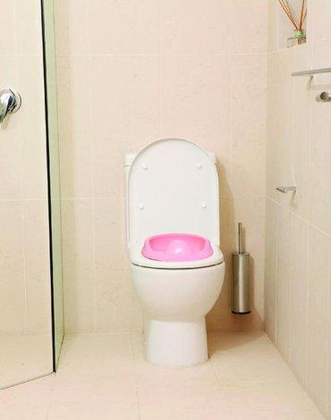 Dreambaby - Nakładka na toaletę - różowa