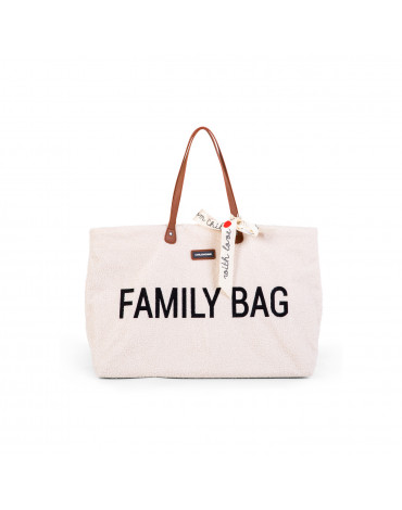 Childhome Torba Family Bag Teddy Bear White (Limited Edition)