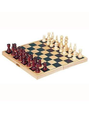 Goki® - Szachy, klasyczna gra logiczna, Goki HS 040 - USZKODZONE OPAKOWANIE