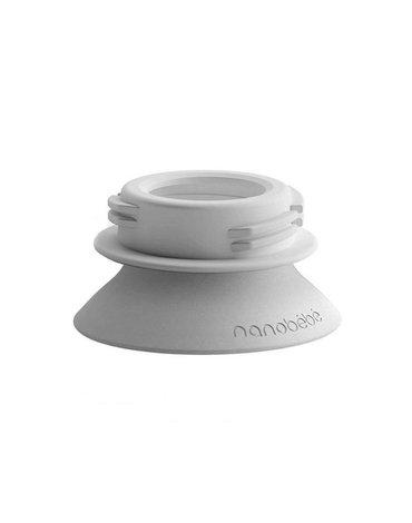 Nanobebe - Zestaw adapterów do laktatorów dla butelek Nanobébé - 2 szt.