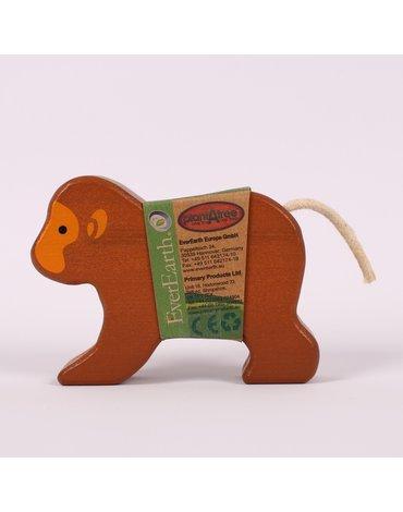 EverEarth - Małpka drewniania figurka bambusowa