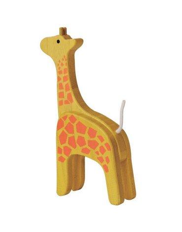EverEarth - Żyrafa drewniania figurka bambusowa