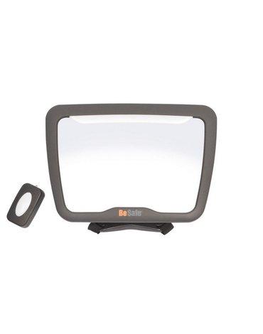 BeSafe akcesoria - Lusterko do obserwacji dziecka XL² z lampką LED
