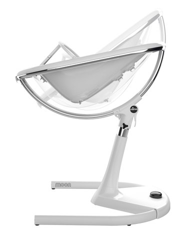Mima Zigi - Bo - Ovi - Krzesełko Mima Moon 2G - stelaż + podnóżek - biały