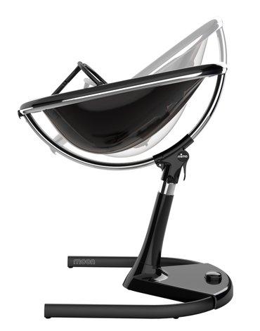 Mima Zigi - Bo - Ovi - Krzesełko Mima Moon 2G - stelaż + podnóżek - czarny
